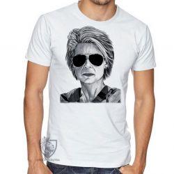 Camiseta Exterminador do Futuro Sarah Connor II