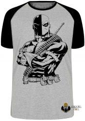 Camiseta Raglan Deathstroke