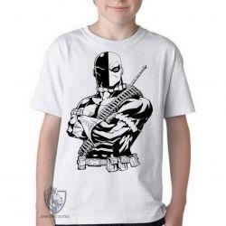 Camiseta Infantil Deathstroke