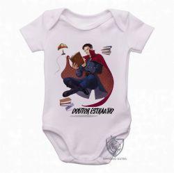 Roupa  Bebê  Dr Estranho voando