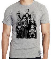 Camiseta Infantil A Família Addams III