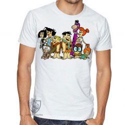 Camiseta  Flinstones desenhado