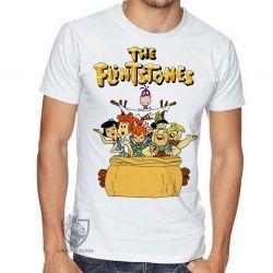 Camiseta  Flinstones carro