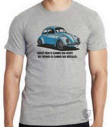 Camiseta Infantil Fusca clássico