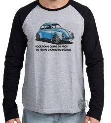 Camiseta Manga Longa Fusca clássico