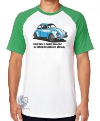 Camiseta Raglan Fusca clássico