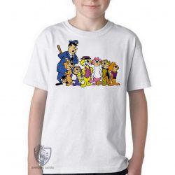 Camiseta Infantil  Gato Manda Chuva turma