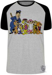 Camiseta Raglan Gato Manda Chuva turma
