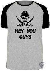 Camiseta Raglan Goonies Sloth hey you guys