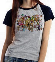 Blusa Feminina Hanna Barbera personagens II