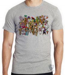 Camiseta  Hanna Barbera personagens II