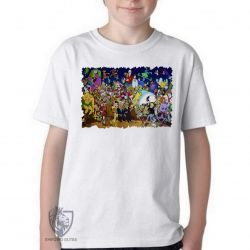 Camiseta Infantil  Hanna Barbera personagens III