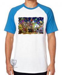 Camiseta Raglan Hanna Barbera personagens III