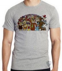 Camiseta  Hanna Barbera personagens IV