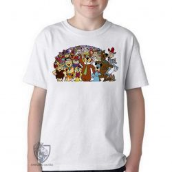 Camiseta Infantil  Hanna Barbera personagens IV