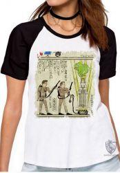 Blusa Feminina Hieróglifos Caça Fantasmas