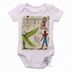 Roupa  Bebê  Hieróglifos Homem Aranha