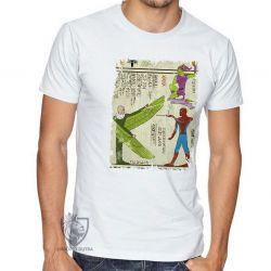 Camiseta  Hieróglifos Homem Aranha