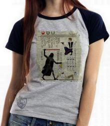 Blusa Feminina  Hieróglifos Star Wars