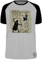 Camiseta Raglan Hieróglifos Star Wars