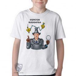 Camiseta Infantil  Inspetor Bugiganga