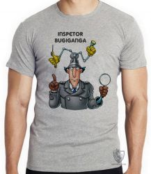 Camiseta  Inspetor Bugiganga