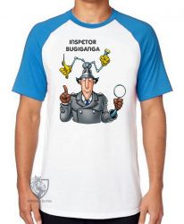 Camiseta Raglan Inspetor Bugiganga