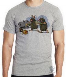 Camiseta Infantil  Hanna Barbera Irmãos Rocha