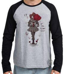Camiseta Manga Longa  It a coisa
