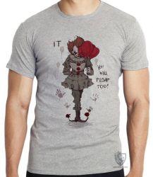 Camiseta Infantil It a coisa