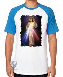 Camiseta Raglan Jesus Cristo luz