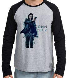 Camiseta Manga Longa John Wick