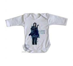 Roupa Bebê manga longa John Wick