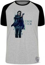 Camiseta Raglan  John Wick