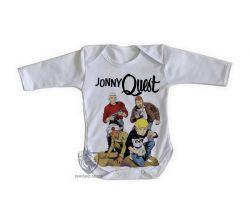 Roupa Bebê manga longa  Jonny Quest turma