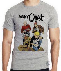 Camiseta Jonny Quest turma