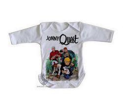 Roupa Bebê manga longa  Jonny Quest selva
