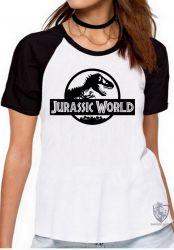 Blusa Feminina Jurassic Park logo