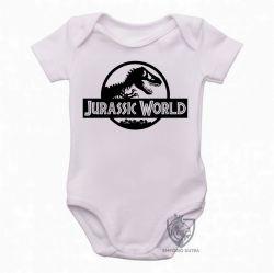 Roupa  Bebê  Jurassic Park logo