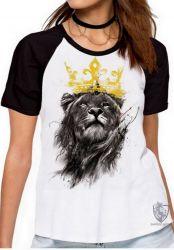 Blusa Feminina Leão O Rei