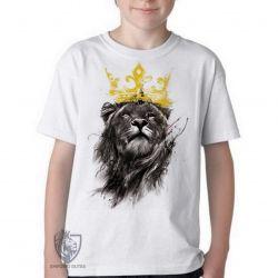 Camiseta Infantil Leão O Rei