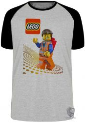 Camiseta Raglan Lego Emmet Brickowski