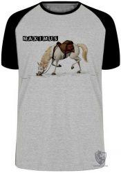 Camiseta Raglan Max Enrolados