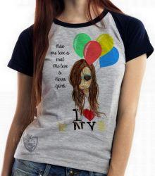 Blusa Feminina Me leve à NY
