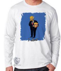 Camiseta Manga Longa Mr. Burns Trump