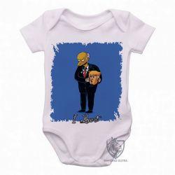 Roupa Bebê Mr. Burns Trump