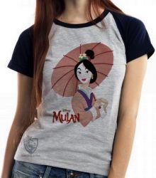 Blusa Feminina Mulan sombrinha