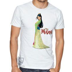 Camiseta Mulan vestido