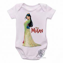 Roupa  Bebê Mulan vestido