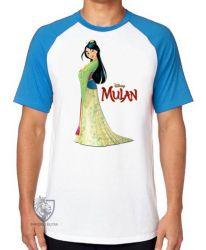 Camiseta Raglan Mulan vestido